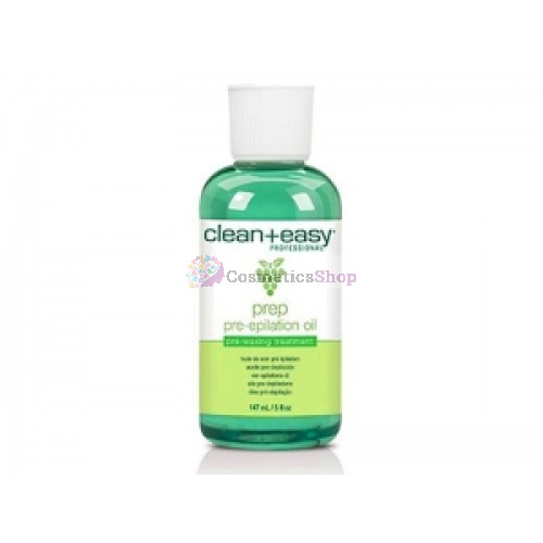 Clean+Easy- Pre Epilation Oil 147 ml.