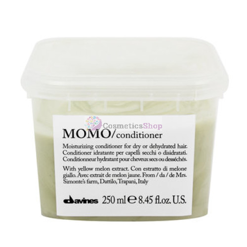 Davines Essential Haircare Momo- Moisturizing conditioner for dry or dehydrated hair 250 ml.
